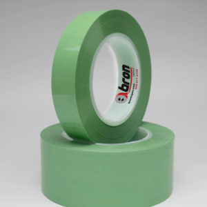 Green Polyester Tape, Non- Silicone 2 mil