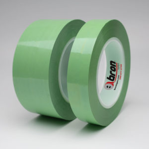 Green Polyester Tape, Non- Silicone 1 mil