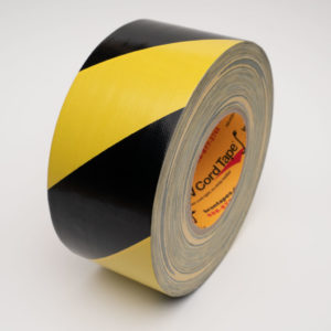 Hazard Cloth Striped Tape