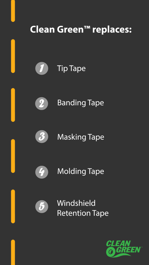 All-In-One Windshield Tape