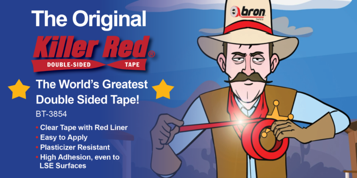 The Original Killer Red - The World's Greatest Double Sided Tape