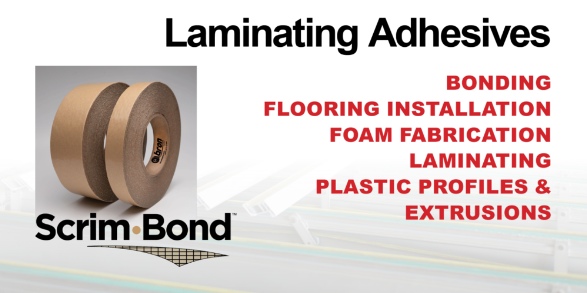 Laminating Adhesives - Scrim Bond Scrim Tape from Bron Tapes
